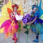 disfraz hadas carnaval comparsa niñas