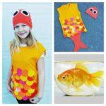 disfraz para niña de pez facil