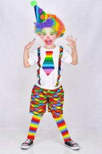 disfraz payaso carnaval niño
