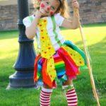 disfraz payaso niña carnaval