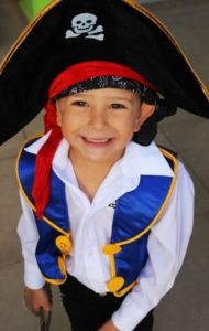 disfraz pirata diverido niño carnaval
