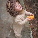 disfraza de leon facil para bebes