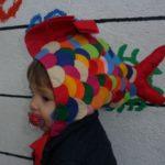 gorrito disfraz para bebe de pez facil