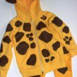 hacer un disfraz de jirafa facil para niños