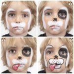 maquillaje de perro para niños