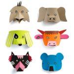mascara de animales para niños