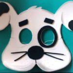mascara de perro facil para niños