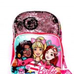 mochila barbie con lentejuelas 2019