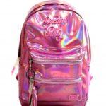 mochila metalizada escolar niña 2019