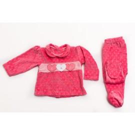 set-en-plush-labrado Bebes rosado Cocomiel otoño invierno 2019