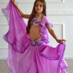 vestido arabe comparsa niña