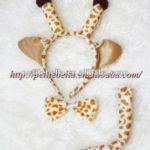 vincha de jirafa para disfraz