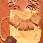 vincha de leon facil