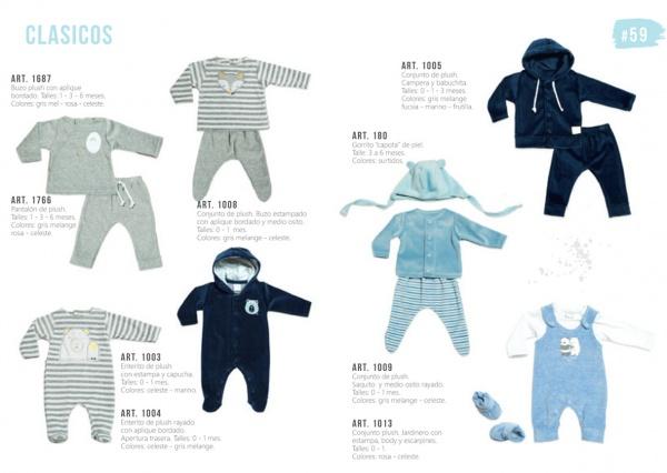 Ropa de plush para bebes Pilim otoño invierno 2019