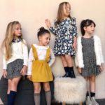 Vestidos de fiesta para niñas Gro web otoño invierno 2019