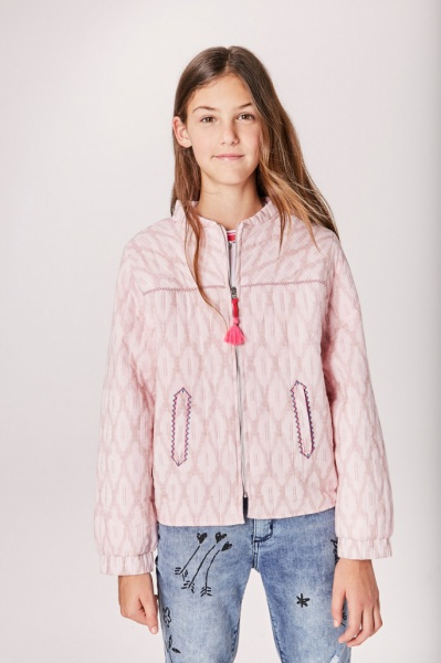 bomber algodon con abrigo Rapsodia girls otoño invierno 2019 1