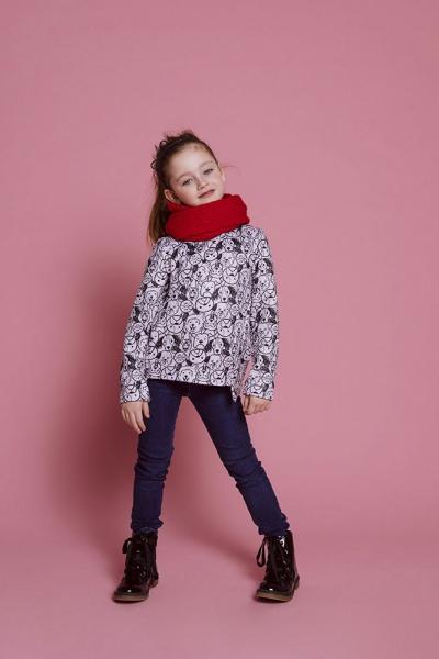 buzo algodon estampado niña nucleo nenas otoño invierno 2019