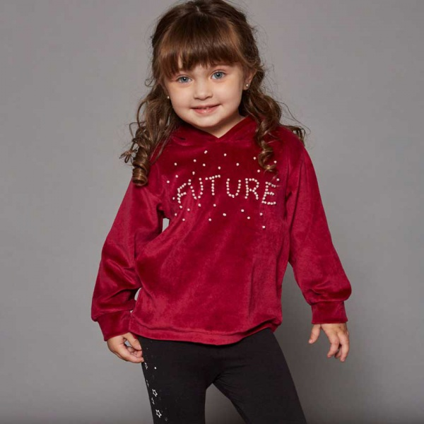 bfc874269a99 buzo plush niña campera algodon frisa niña Ce pe otoño invierno 2019 ...