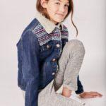 campera jeans con corderito niña Rapsodia girls otoño invierno 2019 1