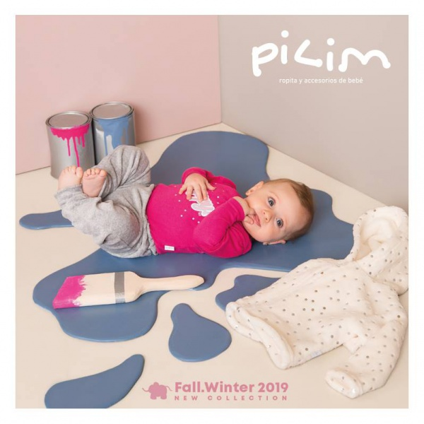 54c714e2d Catalogo de ropa para bebes Pilim otoño invierno 2019