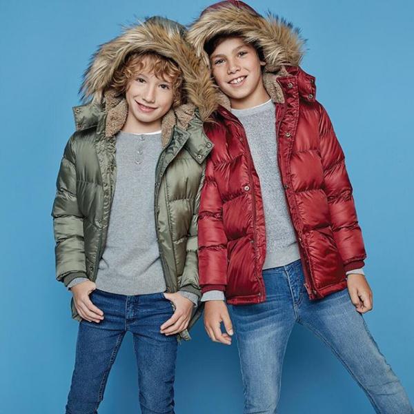 camperones niños con capucha cheeky invierno 2019