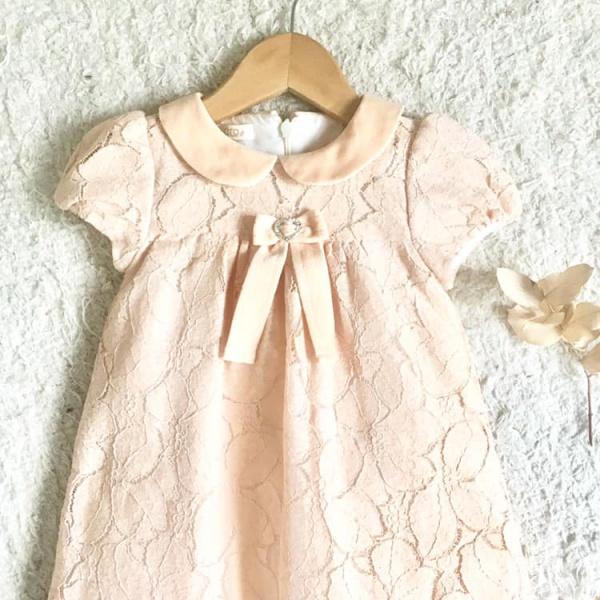 gro web vestido de encaje para beba otoño invierno 2019