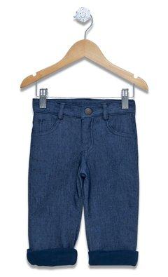 jeans forrado en algodon para bebe infinita ternura otoño invierno 2019