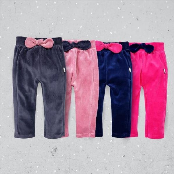 pantalon plush beba con moño pachi invierno 2019