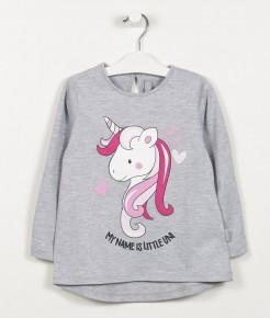remera mangas largas unicornio niña mimo co otoño invierno 2019