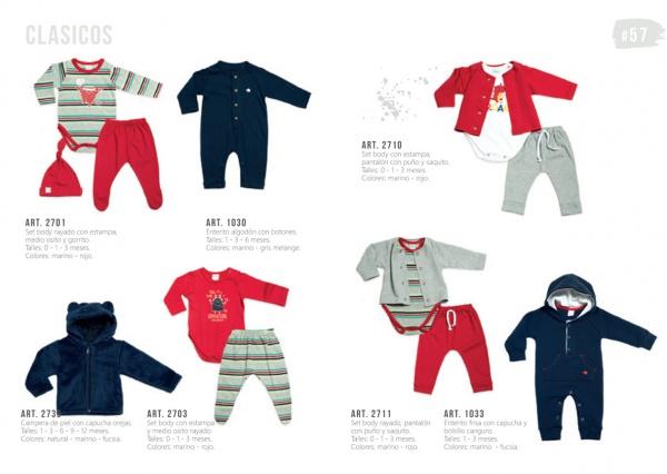 ropa conjuntos bebes Pilim otoño invierno 2019