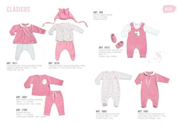 ropa de plush para bebas Pilim otoño invierno 2019