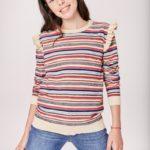 sweater a rayas niña Rapsodia girls otoño invierno 2019