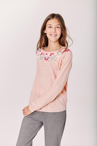 sweater bordado niña Rapsodia girls otoño invierno 2019
