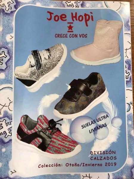 zapatillas con brillos para niñas joe hopy otoño invierno 2019