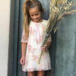 vestido de microtul bordado niña gro web invierno 2019