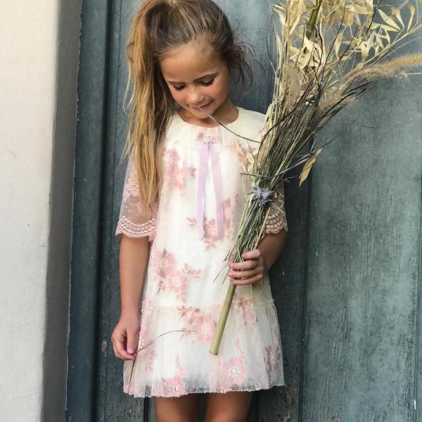 e97fc6d3 Vestidos de niñas para fiesta- Gro web otoño invierno 2019   Minilook