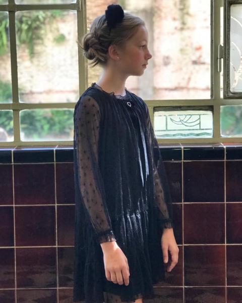 Vestidos De Niñas Para Fiesta Gro Web Otoño Invierno 2019