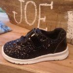 Zapatillas con brillo para niñas Joe Hopi otoño invierno 2019