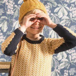 buzo de lana tejido niño Pioppa otoño invierno 2019