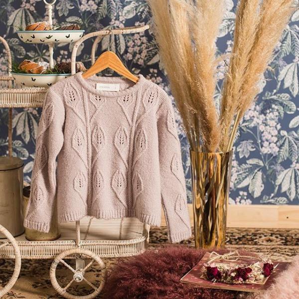 buzo tejido niña Pioppa otoño invierno 2019
