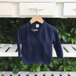 campera de lana niño tejidos Pompas invierno 2019