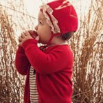 cardigan rojo para niña Paula Cahen danvers invierno 2019