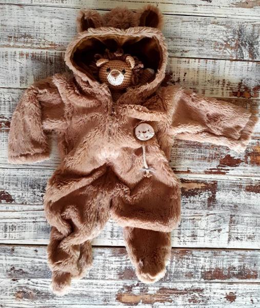 enterito piel abrigo bebe invierno 2019