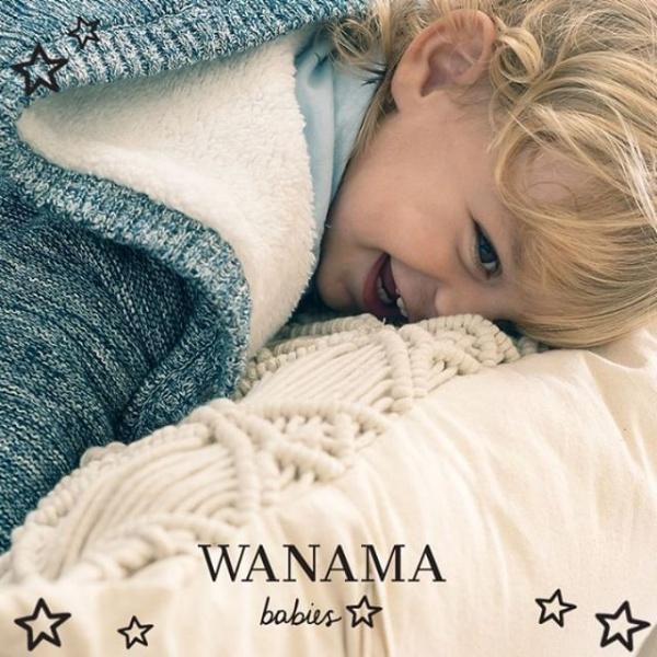 saco tejido con corderito para bebes Wanama boys girls invierno 2019
