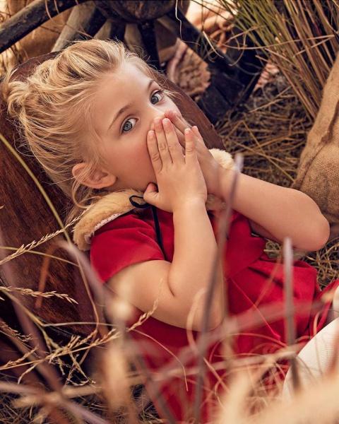 vestido rojo para niña Paula Cahen danvers invierno 2019