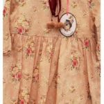 vestido rosa estampado niña Little Akiabara invierno 2019