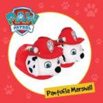 Pantufla paw patrol marshall mas kotas invierno 2019