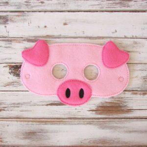 antifaz de cerdo