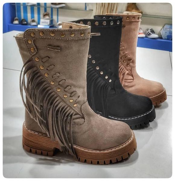 botas para nena Plumitas otoño invierno 2019