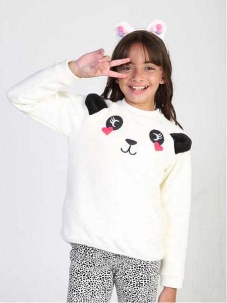buzo algodon panda niña urbanito invierno 2019